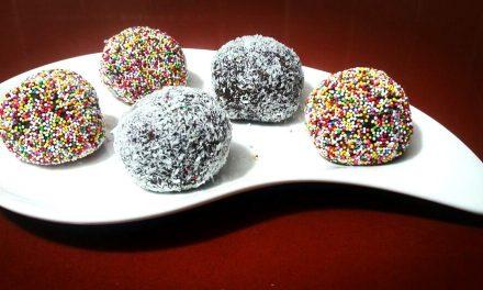 כדורי שוקולד חלביים