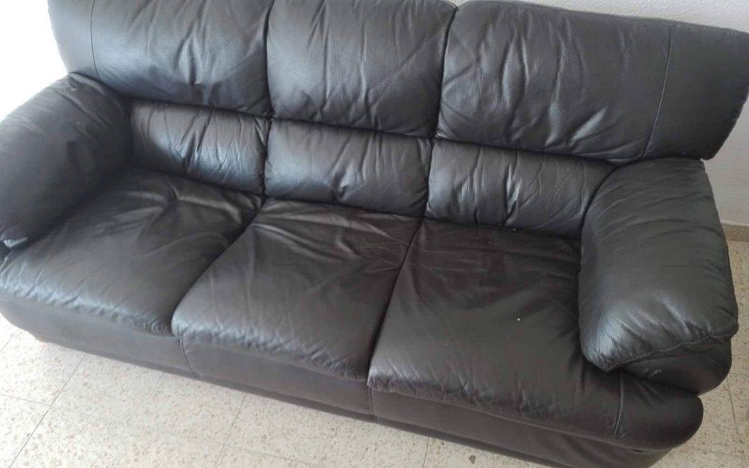 למסירה ספה שלושה מושבים