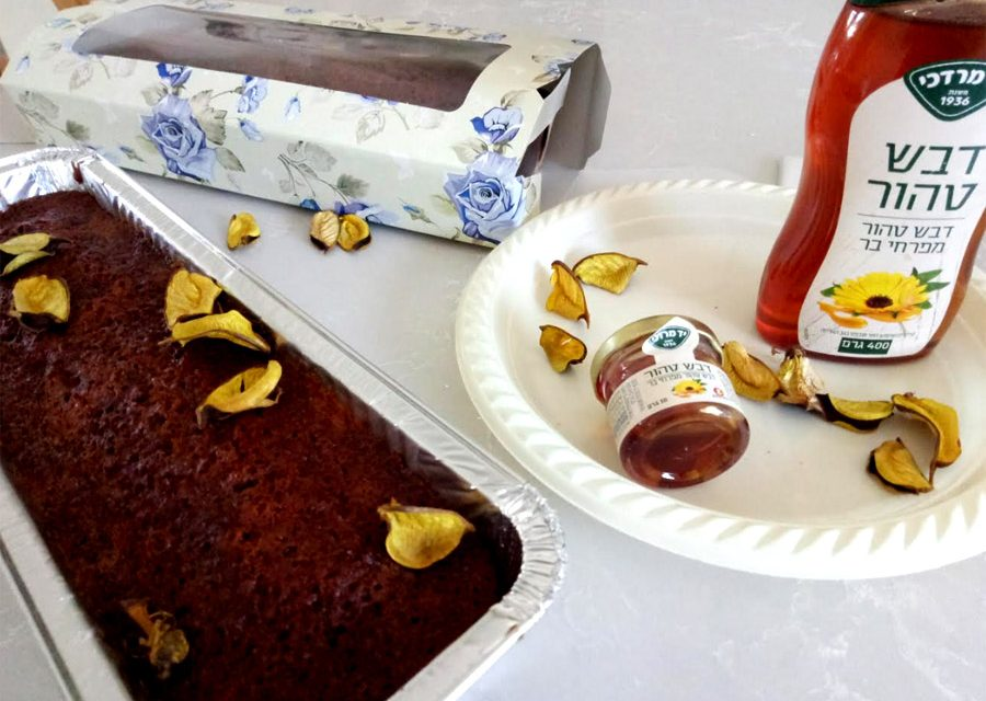 עוגת דבש הכי טעימה